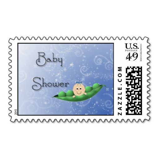 baby shower boy peapod stamp baby shower boys postage stamps showers