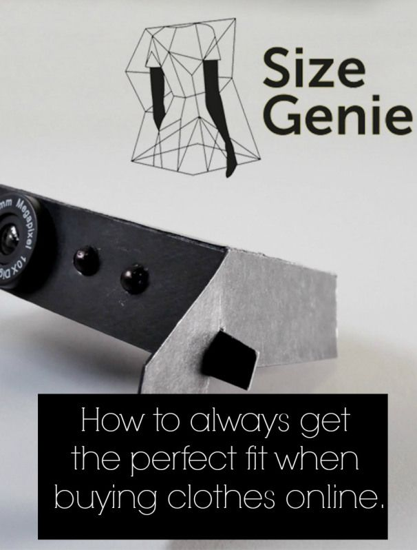 Brilliant for fashion lovers A £20 size scanner that will ensure you always gett he perfect fit when buying clothes on line. Fashion forward for perfect measurements