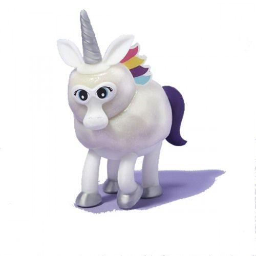 The Original Miracle Melting Unicorn provides endless entertainment. Create your unicorn from the glitter putty and plastic pieces and then watch it melt over and over again! So much fun for kids and adults too!