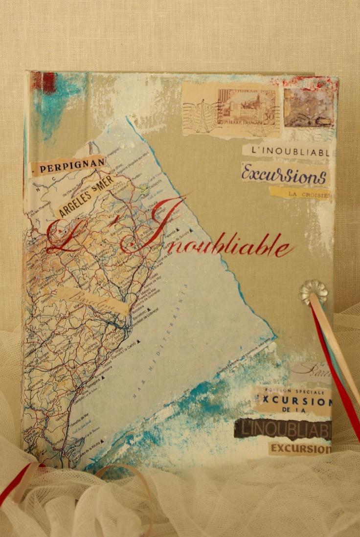 """Travel Theme Wedding   fournisseurs Livre d'or  mariage thème """"voyages"""" www.moments-enchantes.eu"""
