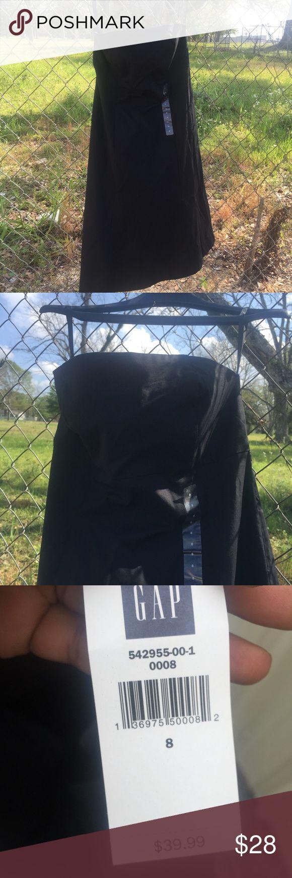 Gap outlet strapless black sundress Coming GAP Dresses Strapless