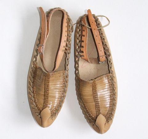 Opanke. Traditional Serbian Shoes.