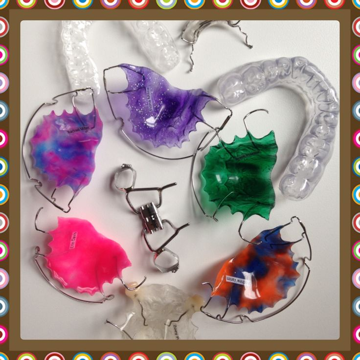 Retainers by Me Braces colors, Orthodontics retainers