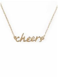 cheers: Colleges Girls, Favorite Christmas, Christmas Presents, Aussies Girls, Favorite Necklaces, Weekend I L Drinks, Delicate Necklaces, Cheer Necklaces, My Style