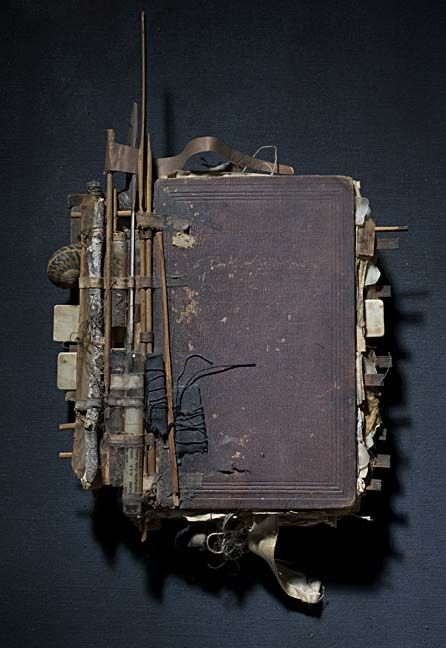 Extraordinary book sculpture: book 06 by Ron Pippin