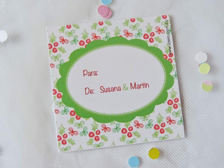 Tarjetas Navideñas Ilustradas Personalizadas
