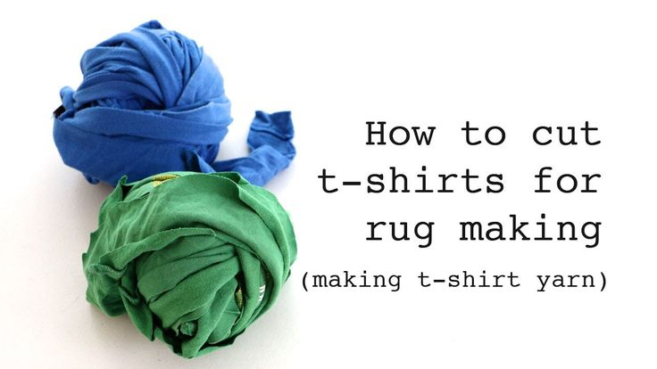 1000 images about sewing rugs on pinterest yarns for How to make rugs out of old t shirts