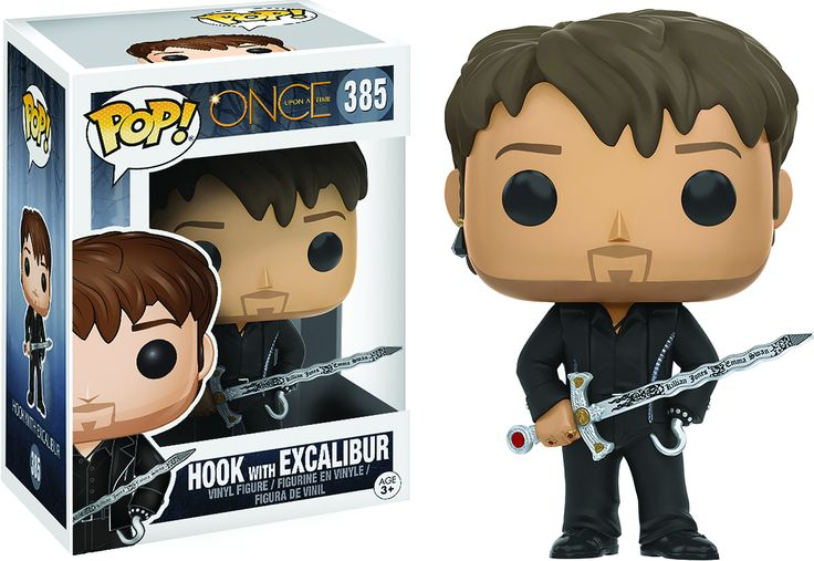 Pop Funko: Once Upon A Time - Hook w/Excalibur