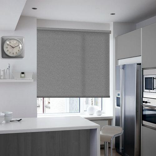 Earley Black Roller blinds