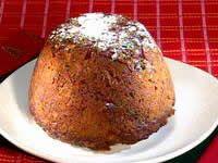 Low-Fat Christmas Pudding- ANNETTE SYM