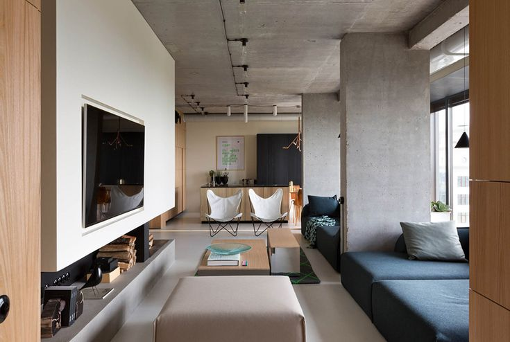 This Apartment Was Designed For Relaxation And Party Time