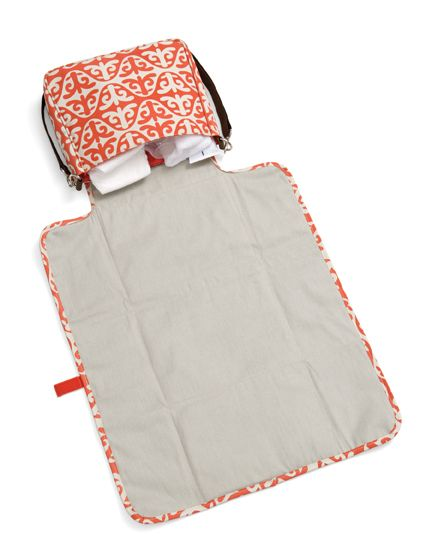 Baby Change Pad made in the tote! Be sure to read the reviews the mom's wrote!