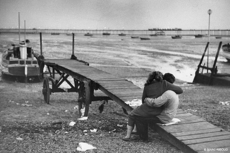 .: Mark Riboud, Southend On Sea, England, Shelters, Photography D Icy, 1955, Seaside Stations, Marc Riboud, Popular Seaside