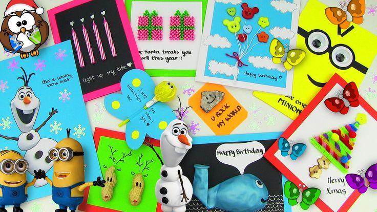 DIY Gifts! 10 Easy DIY Card Ideas (DIY Cards with Christmas Gifts, Birth...#DIY   #diygifts   #gifts   #cards   #diyproject   #diychristmas   #diycrafts   #greetingcards  #christmas #holidays #newyear