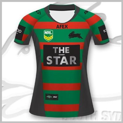 2013 South Sydney Rabbitohs Ladies Home Jersey