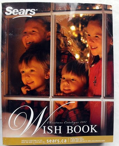 how to get a sears wish book