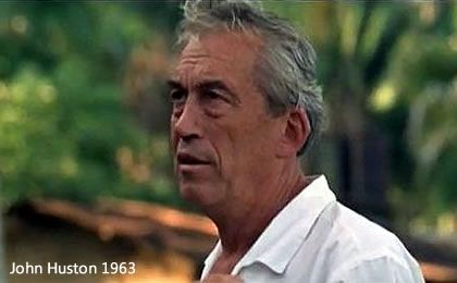 John Huston in 1963 during the Night of the Iguana shots http://www.puertovallarta.net/fast_facts/the-night-of-the-iguana.php