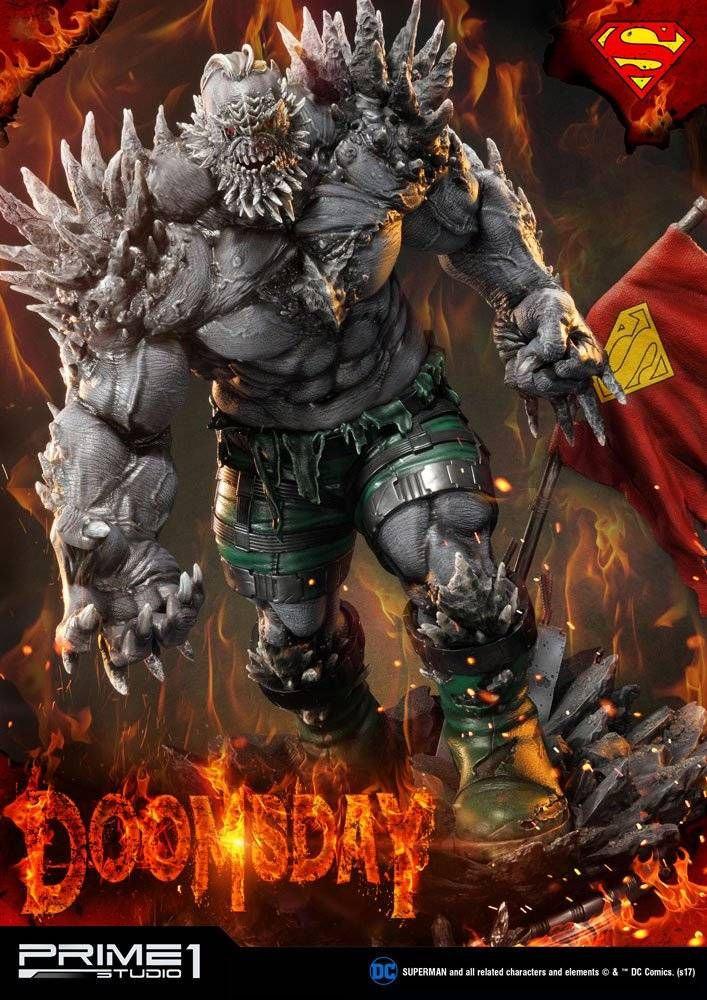Dc Comics Statue Doomsday 97 Cm The Movie Store Character