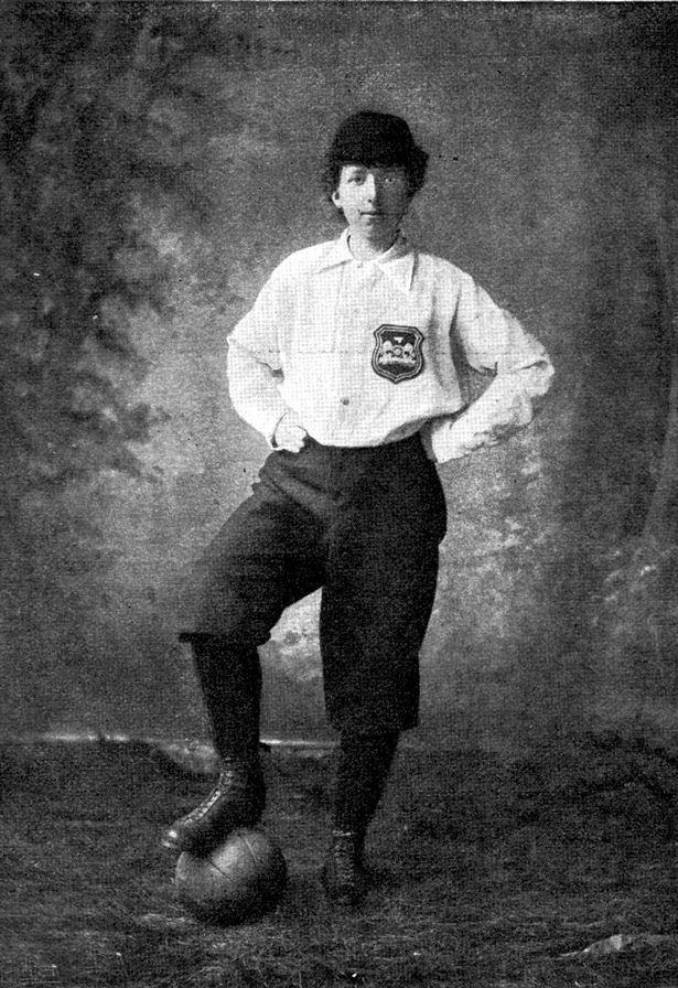 Helen Matthews in 1895 - First Female Footballer and suffragette