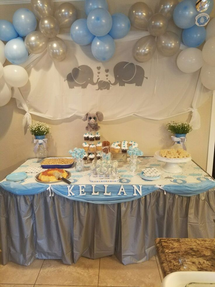 Alexisu0027s Baby Shower . Elephant Themed On Cinco De Mayo With Taco Bar And  Mexican Food