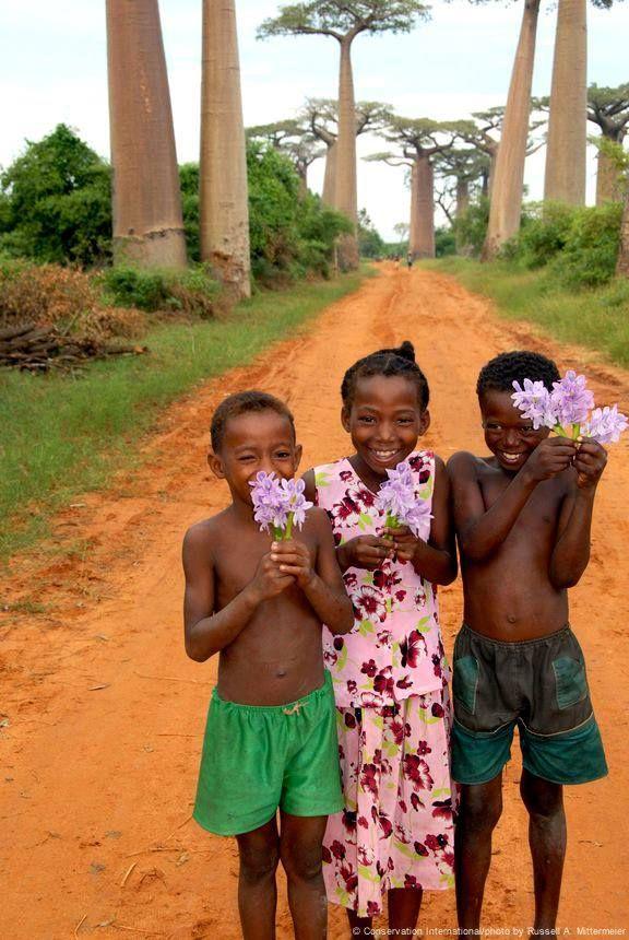 Smiles in Madagascar.                                                                                                                                                                                 Mais