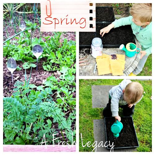 106 best outdoor fun for kids images on pinterest for Fun vegetable garden ideas