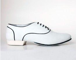 MEN 02 WHITE Leather