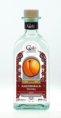 Csalló Apricot high quality Pálinka, Hungary
