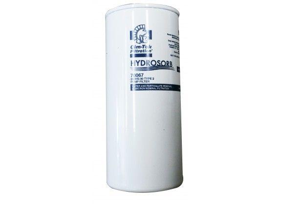 30 micron Hydrasorb Cimtek water and sediment absorption element. 67LPM