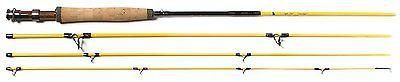 Eagle Claw Powerlight IM 7 5 Weight Fly Rod 4 Piece Yellow 9 Feet