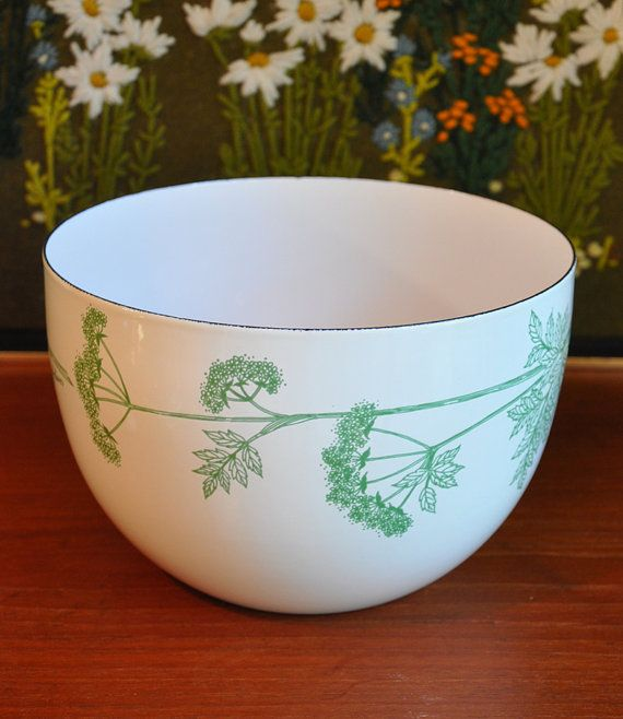 """Chervil"" bowl by Finel"