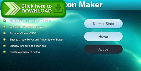 [ThemeForest]Free nulled download King Button Maker CSS3 from http://zippyfile.download/f.php?id=47466 Tags: ecommerce, animation, builder, button, color, css, css3, generator, gradient, icon, king, maker, pure, shadow, smooth, transition