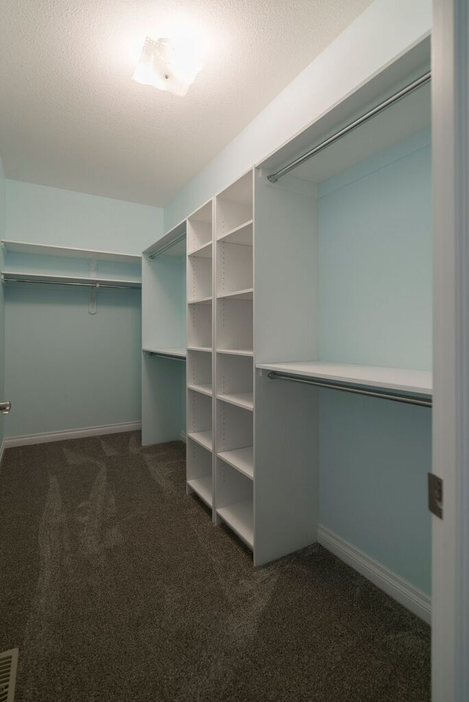 Wouldn't you love a closet like this? #spaciousclosets #liveinharmony #roomformoreshoes