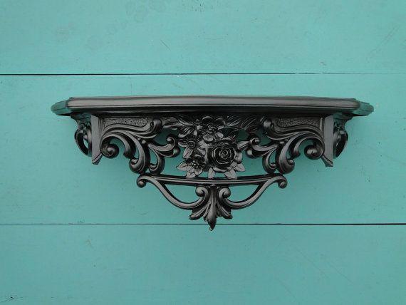 ornate baroque black wall - photo #6