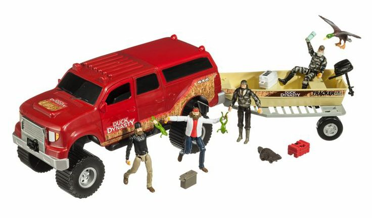 Shark Toys For Boys With Boats : Bass pro shops duck dynasty deluxe adventure play set