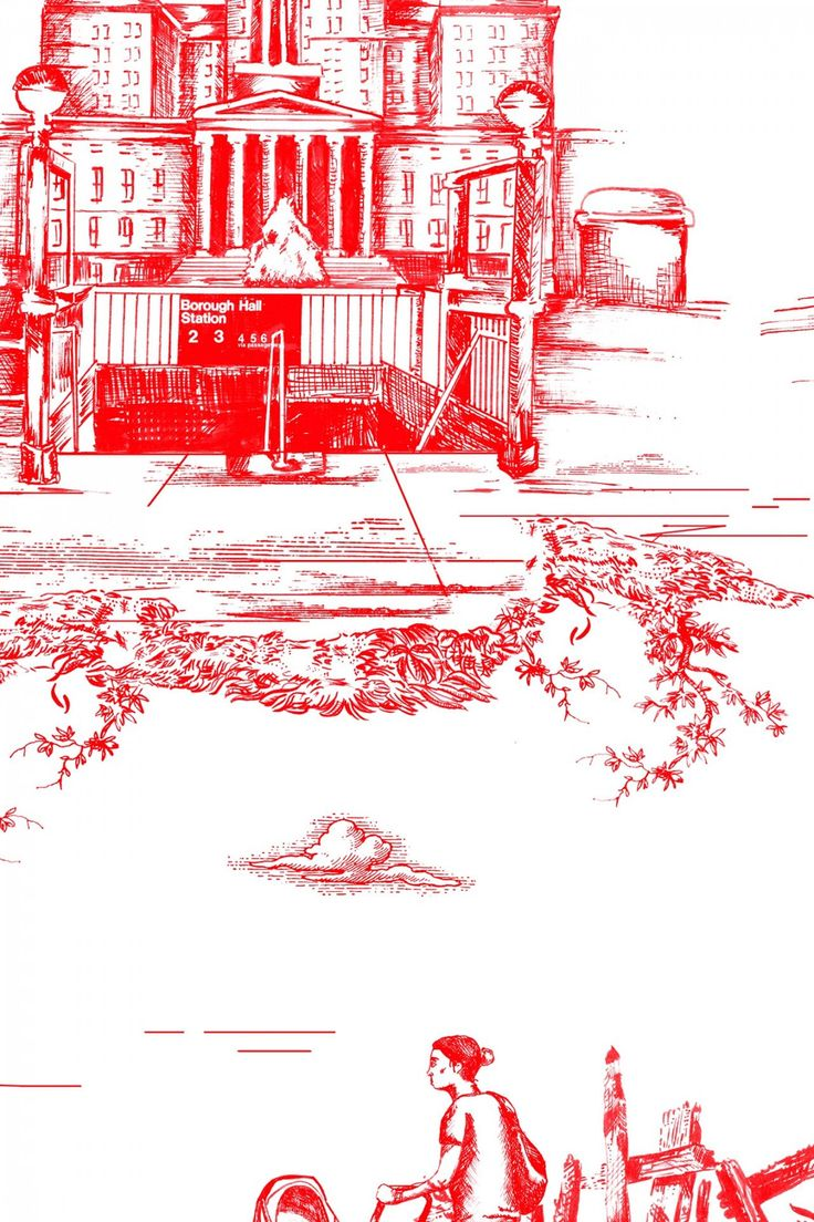 Brooklyn Toile (With images) Toile wallpaper, Wallpaper