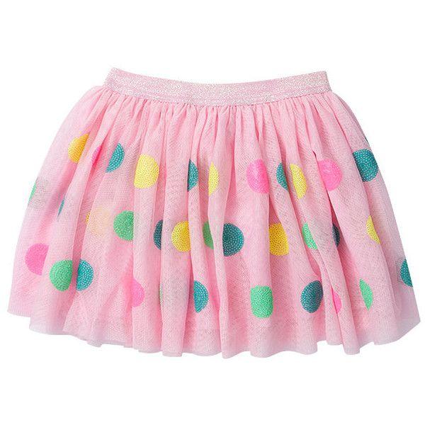 Girls' Chalk Board Sequin Tulle Skirt Target Australia ($13) ❤ liked on Polyvore…