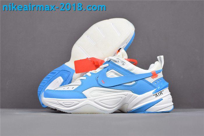 online store 4ebf3 f06d4 New Arrival Women s Off-White x Nike M2k Tekno AO3108-080 Blue White