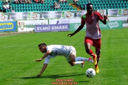 Mohamadou Abdouraman Haladás - DVTK 0-0