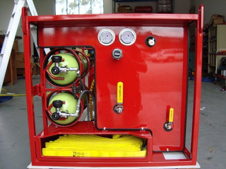 Rapid Intervention Vehicle (RIV) with Compressed Air Foam System (CAFS) Cannon Fire and Rescue