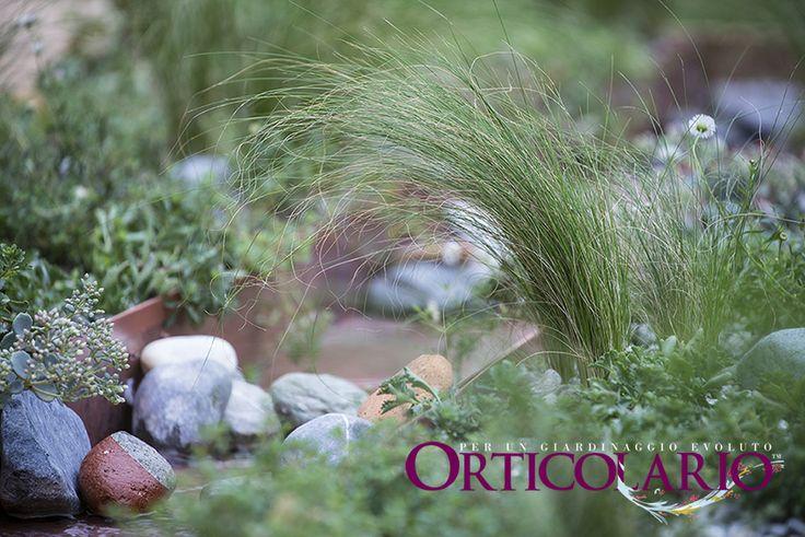 """Orticolario 2013. Dettaglio del giardino """"Desco al Fresco"""" di Anna Piussi. Ph.: Dario Fusaro"""