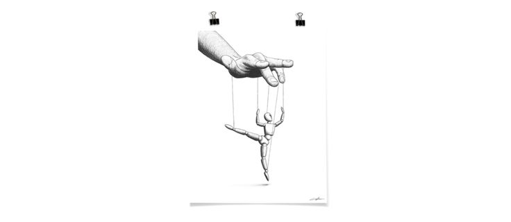 Ballet de Marionnette Poster | Olsson & Gerthel