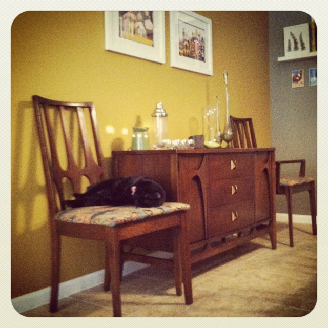 Craigslist Dining Room Furniture: Part Of Our Dining Set For 6 That