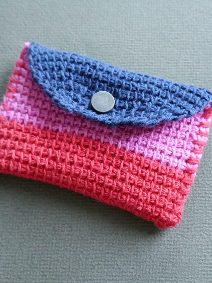 Sarita creative: Mini hold all (in Tunisian crochet)