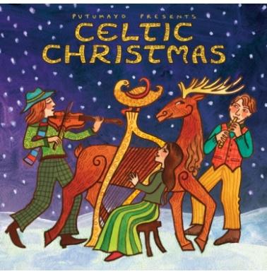 Putumayo Celtic Christmas CD με Χριστουγεννιάτικα Τραγούδια