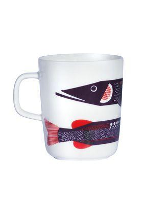 Hauki mug by Marimekko