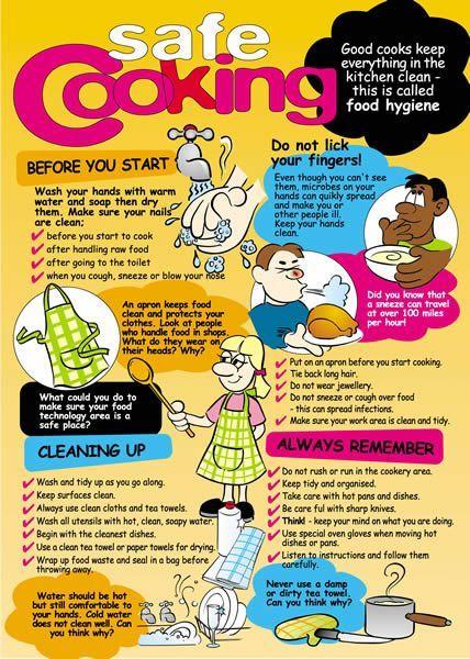As 25 melhores ideias de kitchen safety rules no pinterest for 8 kitchen safety rules