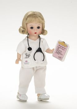 "Madame Alexander ""An Apple a Day"" Nurse doll"