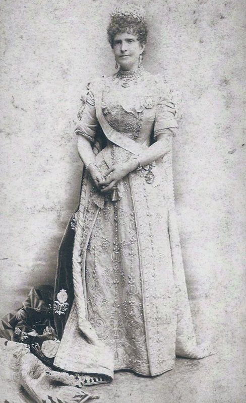 English: Maria Pia, Queen Consort of Portugal.