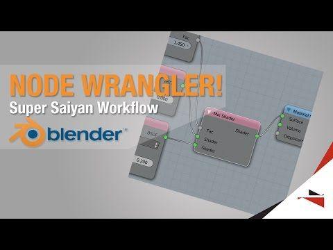 Blender Quick Tips - My Node Wrangler Workflow - YouTube